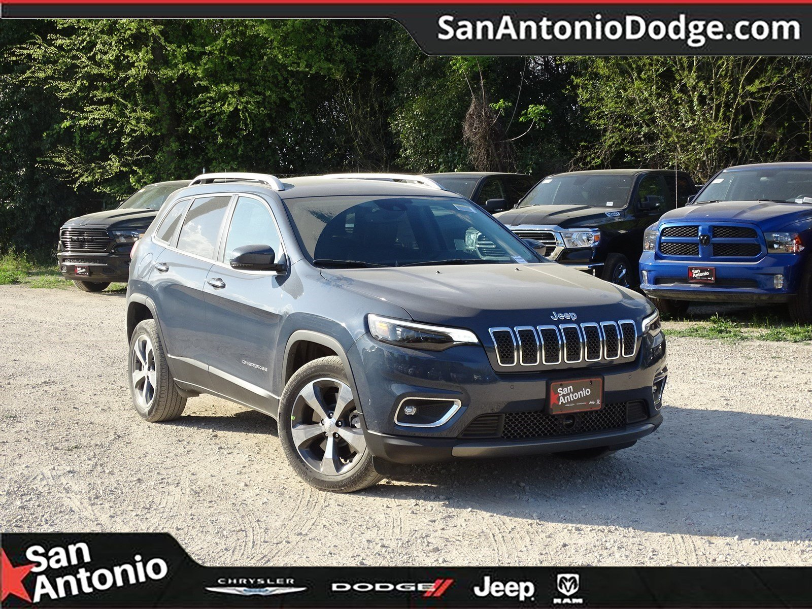 San Antonio Jeep >> New 2019 Jeep Cherokee Limited Sport Utility In San Antonio