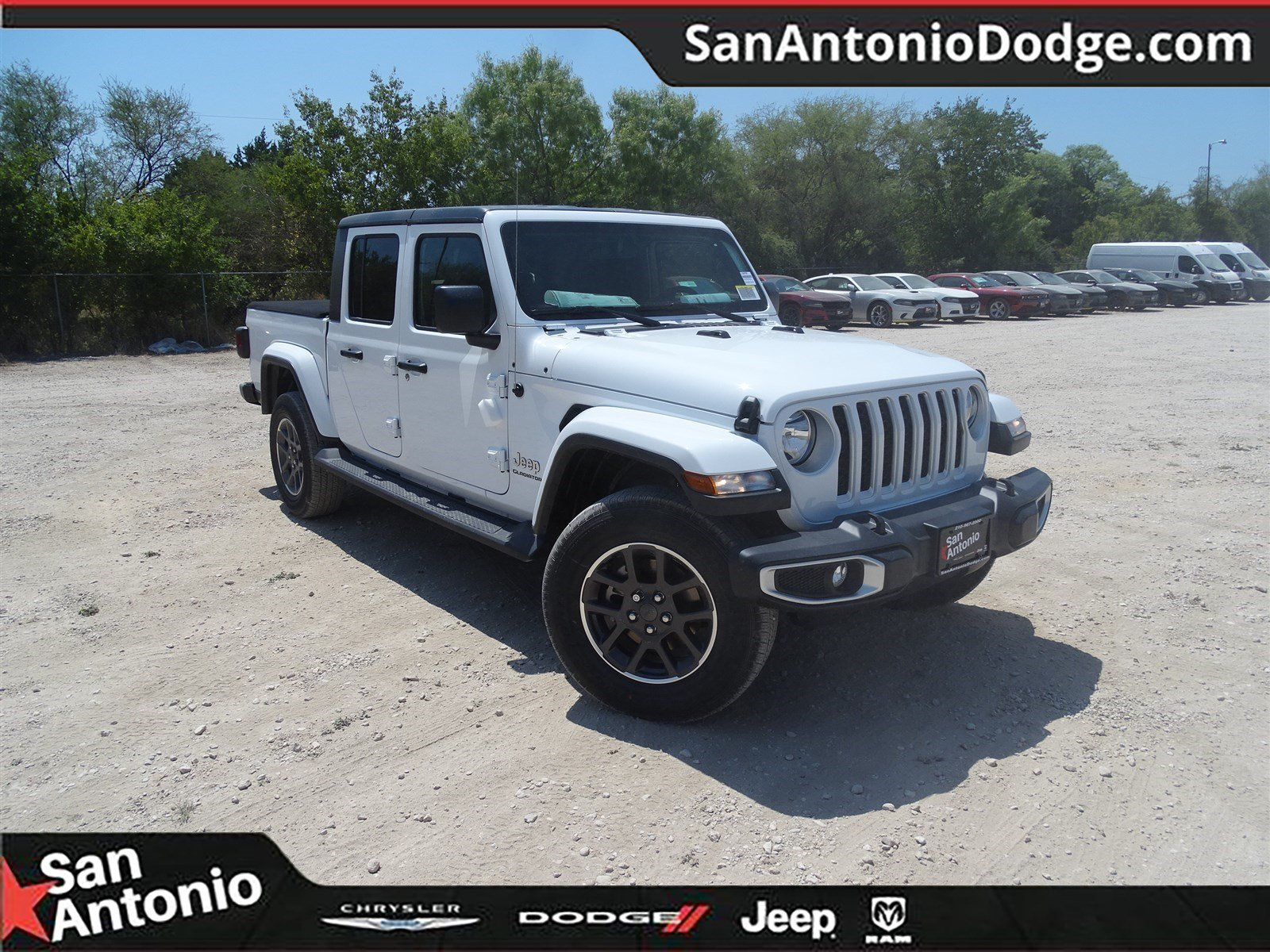 San Antonio Jeep >> New 2020 Jeep Gladiator Overland 4x4