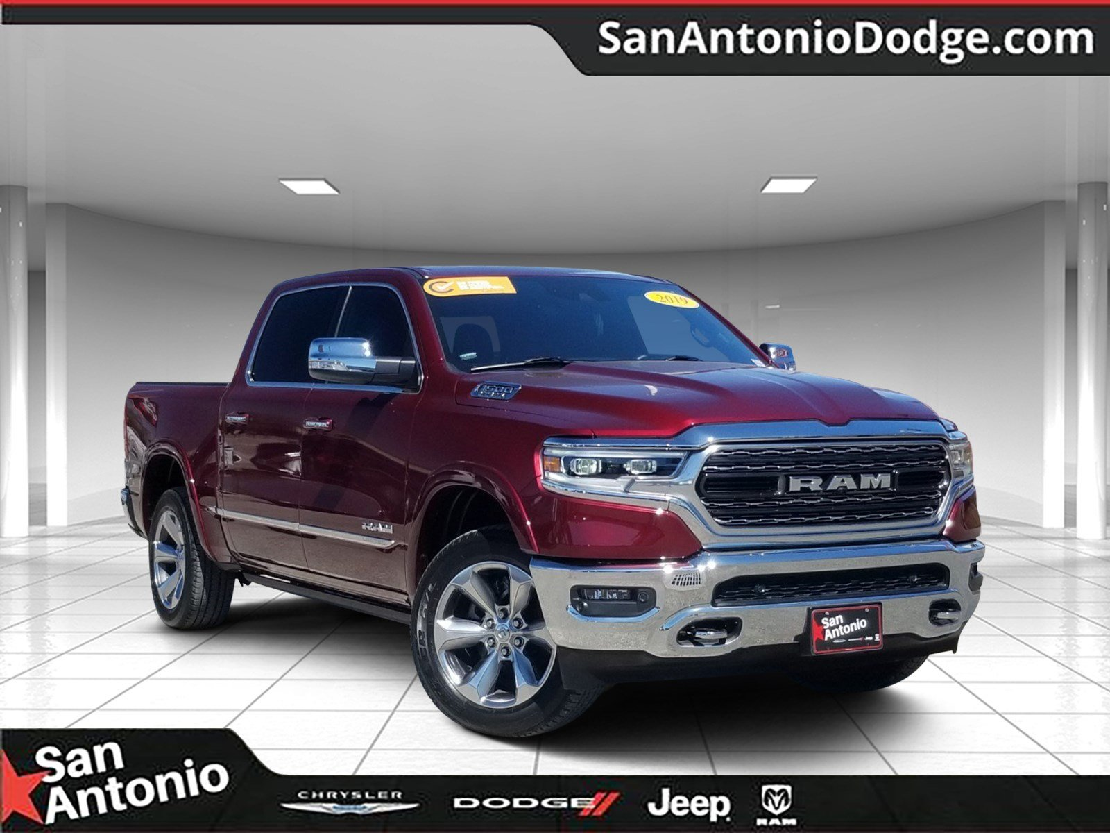 Certified Pre Owned 2019 Ram 1500 Limited 4d Crew Cab In San