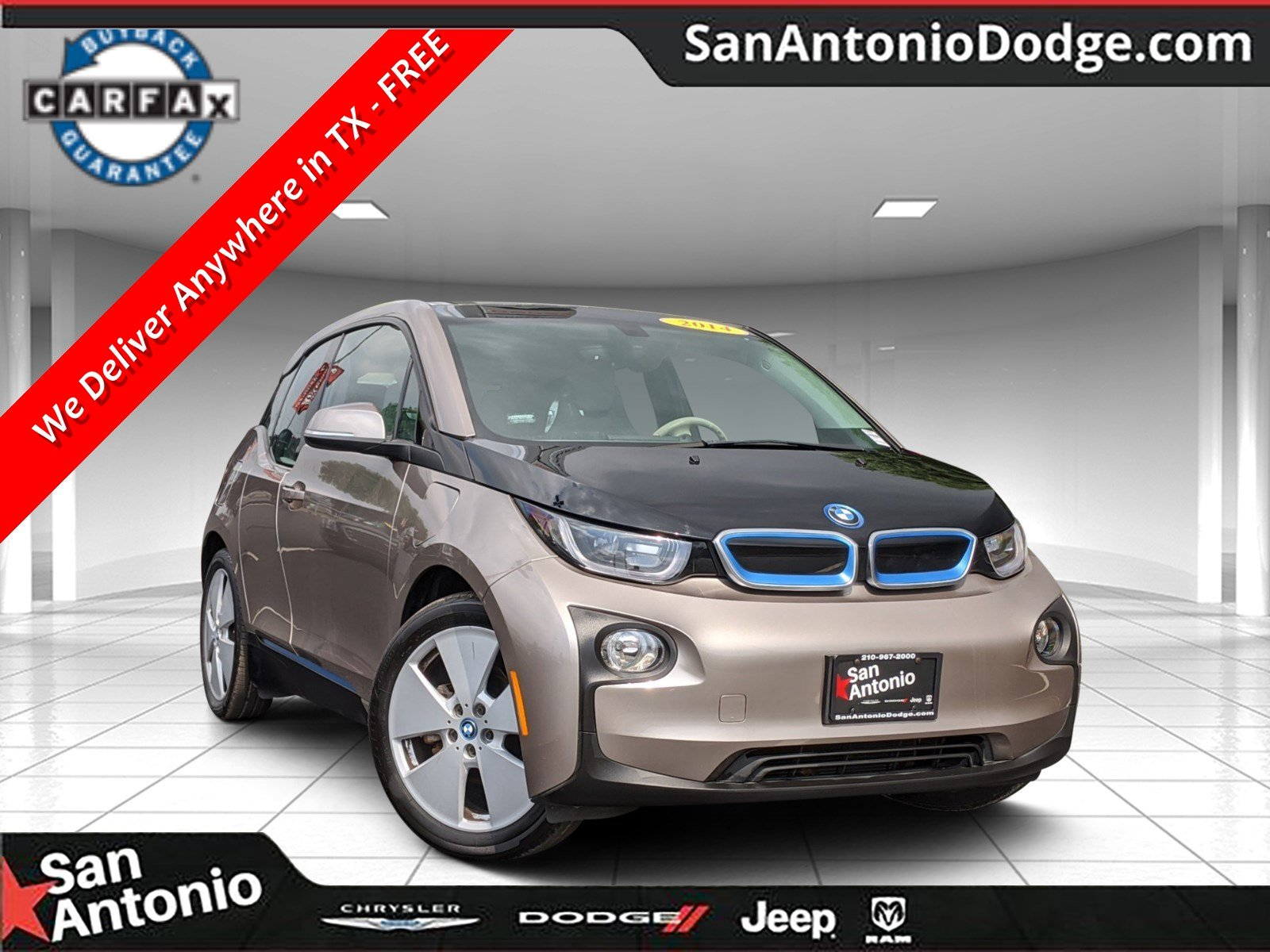 Pre-Owned 2014 BMW i3 with Range Extender